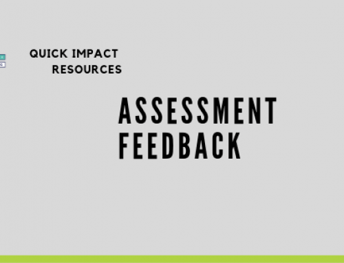 Assessment feedback