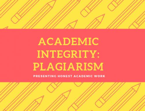 Academic Integrity: Plagiarism