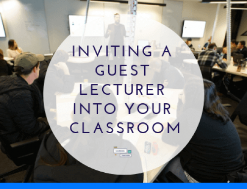 Inviting a Guest Lecturer to your classroom