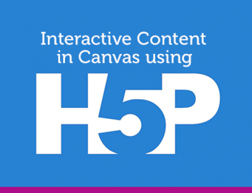 Interactive Content In Canvas using H5P