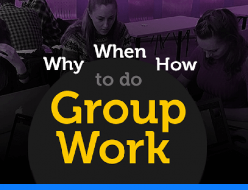 Why, when and how to do group work