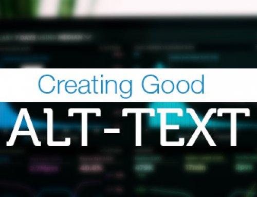 Creating Good Alt-text