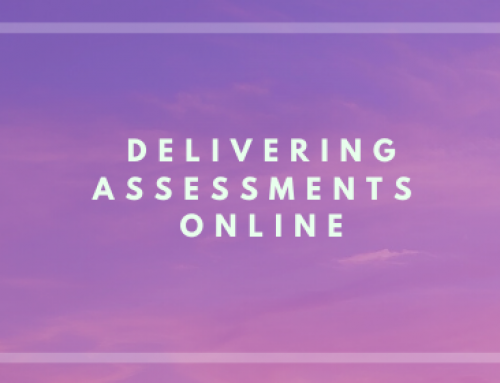 Assessment Options for Online Delivery