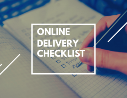 Online Delivery Checklist