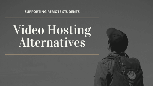 Video Hosting Alternatives